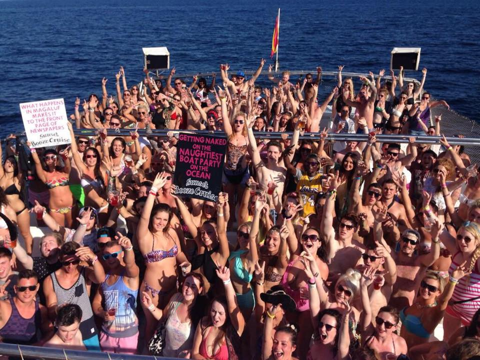 Magaluf Sunset Booze Cruise Party Boat